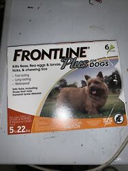 FRONTLINE Plus for 5 to 22 Pounds Dogs 6 Doses $40.00
