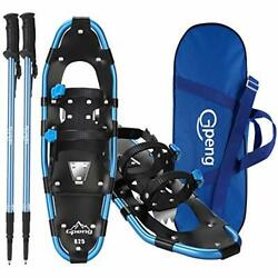 Gpeng 3 in 1 Xtreme Lightweight Terrain Snowshoes for Men Women Youth Kids L... $93.80