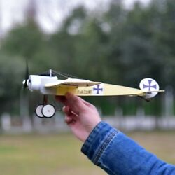 Balsa Wood Plane Laser Cut Airplane Kit Wingspan 480mm 3D Model for Adult Toy $39.99