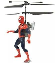 Marvel Spider Man 2CH IR Helicopter With Controller LED lights and sound effects $14.99