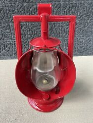 Antique Dietz Railroad Acme Inspector Lamp Restored Working Condition Display $450.00