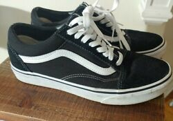 Vans Off The Wall Black White Skate Shoes Mens 8 Womens 9.5 $21.00