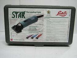 Lister Star Large Animal Clipper In Case w Extra Blade Jakoti Hand shear $309.99