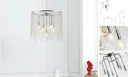 Crystal Chandeliers 7 Lights Pendant Lights for Dining RoomKitchen Chrome $287.47