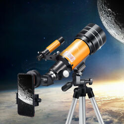 Professional 150X Zoom Astronomical Telescope Monocular Scope with photo clip $113.75