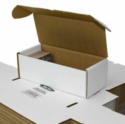 BCW 500 Count Card Storage Box For Standard 20pt Trading Gaming Cards 3 Pack $8.99