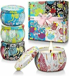 Scented Candles Gifts Sets for WomenAromatherapy Candle for Home Scented4 Pac... $24.59