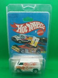 Hot Wheels Black Wall White Super Van on Card with Protecto Pack $125.00