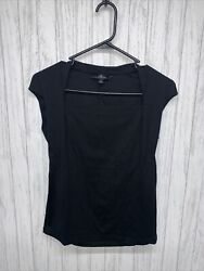 Womens Size S Lafayette 148 Square Neck Top NWOT $30.00
