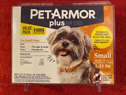PETARMOR PLUS for Dogs Small 5 22 lbs. ⭐️6 Apps VALUE PACK⭐️FREE SHIPPING $25.90