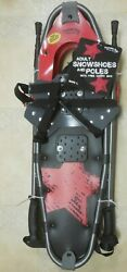 Thunder Bay Outdoor Gear 8 x 28 Adult Kids Snowshoes 250 lb Snow Shoes Unisex $124.95