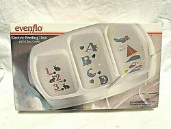 Vintage Evenflo Electric Feeding Dish with clear cover amp; original box $25.99