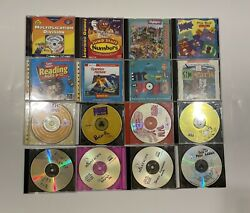LOT OF 10 PC CD ROM Learning Programs Jump Start Highlight Puzzlemania amp; More $19.99