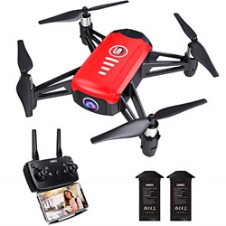 SANROCK H818 Mini Drones for Kids RC Quadcopter with Camera Support Altitude $48.46