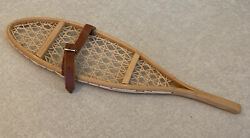 Pleasant Company American Girl Kirsten Winter ONE SINGLE Wood Leather Snowshoe $40.00