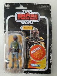 New Star Wars The Empire Strikes Back Retro Collection Boba Fett Action Figure $22.99