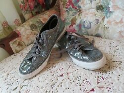 CONVERSE ONE STAR WOMEN#x27;S DARK GRAY SEQUENCE ATHLETIC SHOES SIZE 8.5 M $18.00