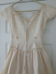 Vintage Wedding Gown from 1958 $99.00