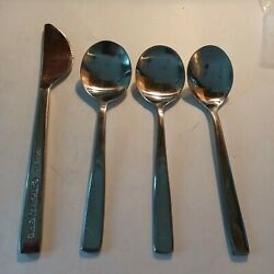 Cathay Pacific Airline 3 Spoons and 1 Knife Stainless Steel $18.00