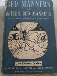 Bed Manners and Better Bed Manners Arden Book 1936 Ralph Hopton amp; Anne Balliol $19.99