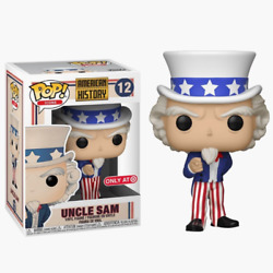 Funko Pop Icons American History Uncle Sam #12 Target Exclusive NEW MINT $27.99