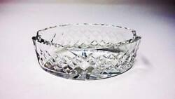 Superb Vintage Waterford Crystal Alana Double Ashtray $29.50