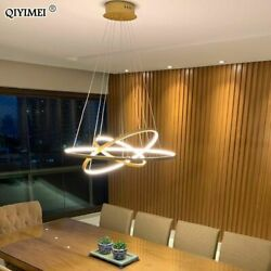 Modern LED Ceiling Light Lamp Pendant Dining Room Hanging Living Dimmable Round $443.99