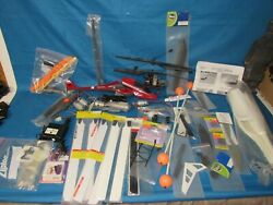 Lot Mixed RC Helicopter Parts amp; Extras. Read Description. FAST FREE SHIPPING. $75.00