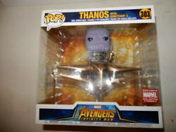 THANOS FUNKO POP # 303 LARGE WITH SANCTUARY 2 MARVEL COLLECTIBLE FIGURE NEW $17.50