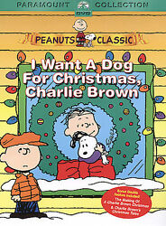 I Want a Dog for Christmas Charlie Brown DVD 2004 Free Shipping $4.95