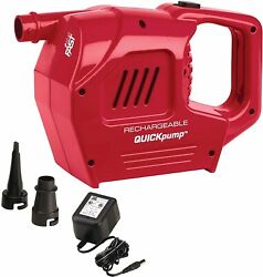 Coleman Rechargeable QuickPump Air Pump 2000017848 w 120V Charger New w o box. $39.95