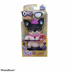 Little Live Pets OMG Pets Black and White Dog Batteries Included Age 5 $13.40