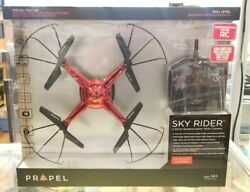 Propel RC Sky Rider 2.4GHz Quadcopter With Onboard Camera OD 2114 Red NEW $79.99