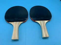 Champion High Spin Table Tennis Racket PAIR $23.99