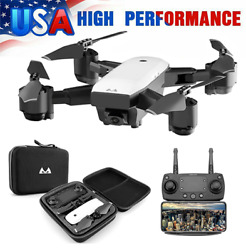 S20 1080P HD Drone Wide Angle Camera Foldable RC Quadcopter FPV fr Beginner Y8R8 $36.78