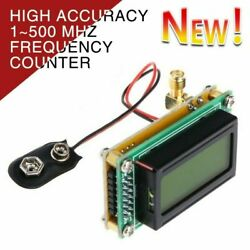 High Accuracy 1 500 MHz Frequency Counter RF Meter Tester Module For ham Radio $18.54