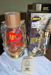 RE Dietz 12quot; No.20 Junior SOLID Brass Lantern NEW IN BOX NEW OLD STOCK $149.99