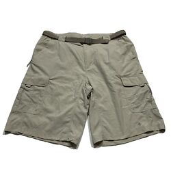 Columbia Omni Wick Men#x27;s Size Large 12 Insm Outdoor Casual Cargo Hiking Shorts $13.00