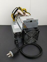 Antminer T9 10.5 Th s Miner with Bitmain PSU Power Supply $440.00