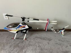 Excellent Condition Thunder Tiger Raptor .50 50 Size RC Helicopter Heli Airframe $299.95