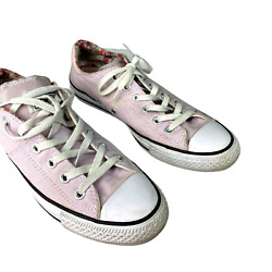 Converse All Star Women#x27;s Pink Sneakers Chuck Taylor Canvas Size 10 $14.00