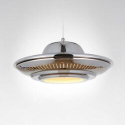 Modern UFO Flying Saucer Ceiling Lamp Light Fixture Chandelier Gold Bulb Include $136.00