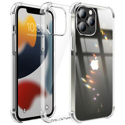 For iPhone 13 Mini13 Pro Max Clear Case Soft TPU Slim Shockproof Crystal Cover $6.96