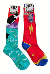 Sock It Too Me Ray Zapper and Orca Novelty Knee High Socks $22.94