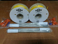 PetSafe Dog Fence Boundary Wire with Flags 1000#x27; and splice connectors. $18.00