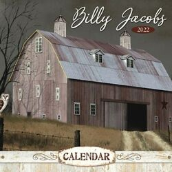NEW BILLY JACOBS 2022 CALENDAR Wall Hanging Paper Kitchen Farmhouse 13quot; x 24quot; $21.49
