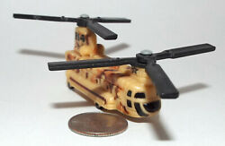 Hot Wheels Military CH 47 Chinook Helicopter in Desert Camouflage $8.00