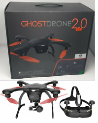 Ehang Ghostdrone 2.0 VR Drone For iOS with VR Goggles 4K camera DJI Drone Black $142.20