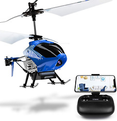 Cheerwing U12S Mini RC Helicopter with Camera Remote Control Helicopter for Kids $50.31