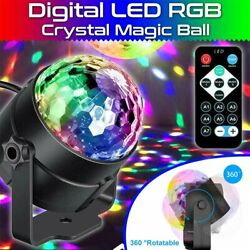LED Galaxy Starry Night Light Star Sky Projector DJ Party Disco Ball Lamp Remote $8.99